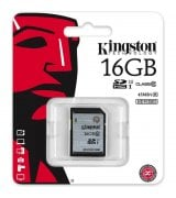 Карта памяти Kingston SDHC/SDXC 16GB Class 10 UHS-I (SD10VG2/16GB)