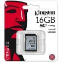 Карта памяти Kingston SDHC/SDXC 16GB Class 10 UHS-I (SD10VG2/16GB)