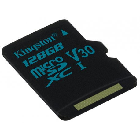 Карта памяти Kingston microSDXC 128GB Canvas Go! Class 10 UHS-I U3 (SDCG2/128GBSP)