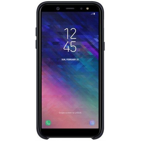 Чехол Duall Layer для Samsung Galaxy A6 (2018) A600 Black (EF-PA600CBEGRU)