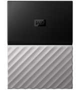 Western Digital My Passport Ultra 1TB WDBTLG0010BGY-WESN 2.5 USB 3.0 External Black-Gray