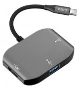 Адаптер Hoco HB7 Yito Type-C to HDMI+USB3.0+USB2.0