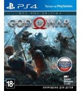 Игра God of War (2018) Day One Edition для Sony PS 4 (русская версия)