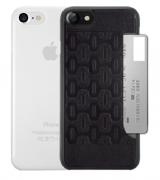 Набор чехлов Ozaki O!coat Jelly+Pocket 2 in 1 case with card для iPhone 7 Black+Clear