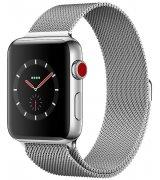 Apple Watch Series 3 38mm (GPS) Stainless Steel Case with Milanese Loop (MR1F2)
