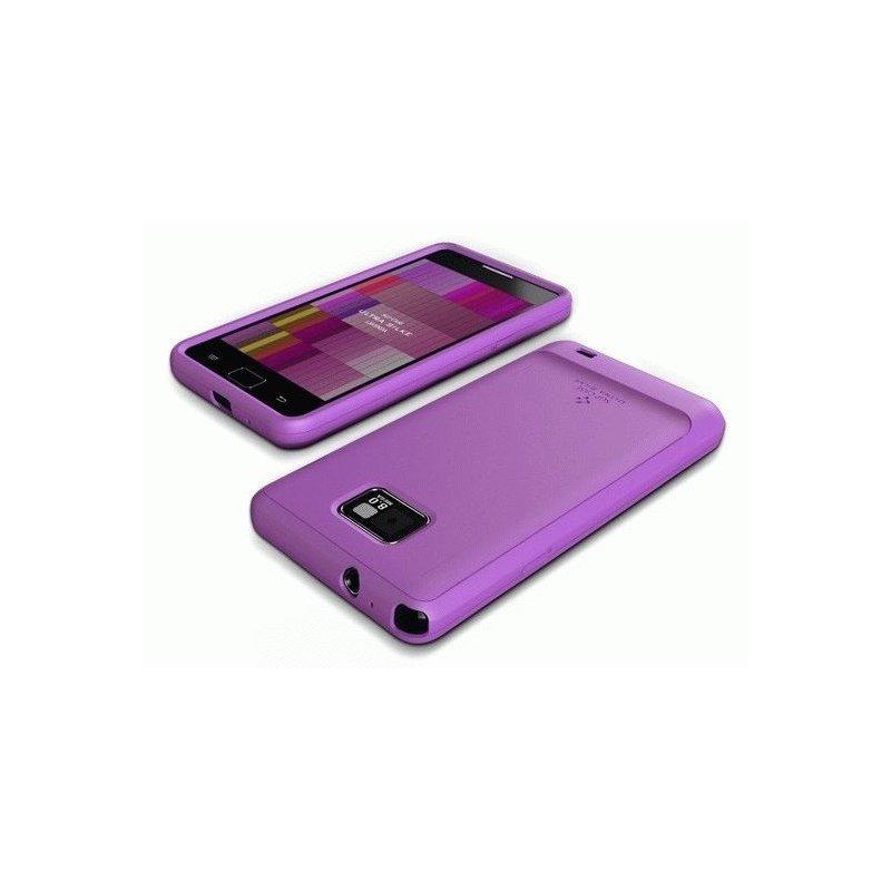 Накладка SGP Ultra Silke Series Lavenda для Samsung i9100 Galaxy S 2