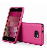 Накладка SGP Ultra Silke Series Fantasia Hot Pink для Samsung i9100 Galaxy S 2