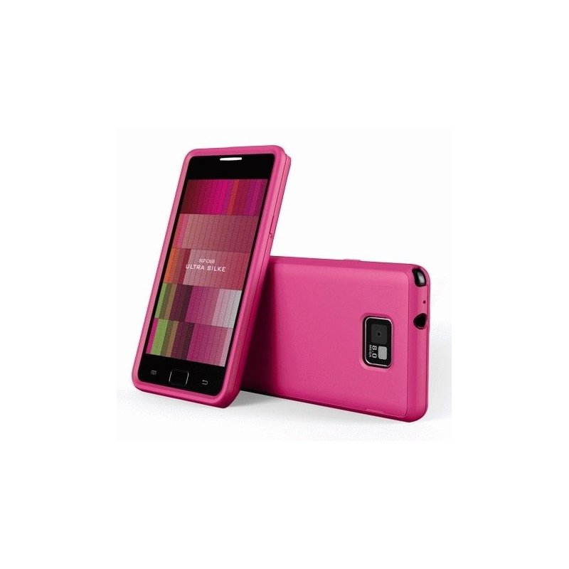 Накладка SGP Ultra Silke Series Soul Black для Samsung i9100 Galaxy S 2