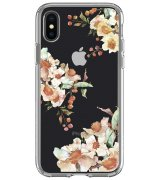 Чехол Spigen Liquid Crystal для iPhone X Aquarelle Primrose (057CS22785)