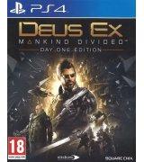 Игра Deus Ex: Mankind Divided. Day One Edition (PS4). Уценка!