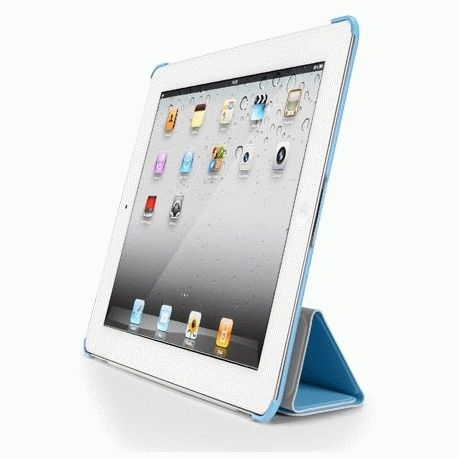 Накладка для Apple iPad 2 SGP Harmonie Hard Case Tender Blue