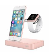Док-станция Belkin Belkin Charge Dock Apple Watch + iPhone Rose Gold (F8J183vfC00)