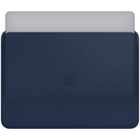 "Чехол Leather Sleeve для MacBook Pro 15"" (2016) Midnight Blue (MRQU2)"