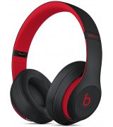 Beats Studio3 Wireless Over-Ear Headphones Matte Black-Red (MRQ82)