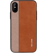 Чехол G-Case Earl Series для iPhone XS Max Brown