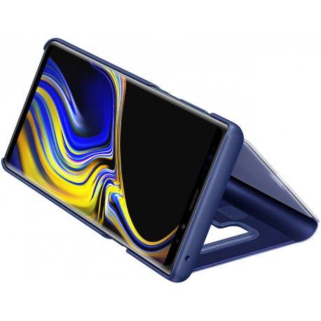 Чехол Clear View Standing Cover для Samsung Galaxy Note 9 Blue (EF-ZN960CLEGRU)