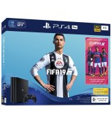 Sony PlayStation 4 Pro Black + Fifa 19
