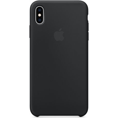 Чехол Apple iPhone S Max Silicone Case Black (MRWE2)