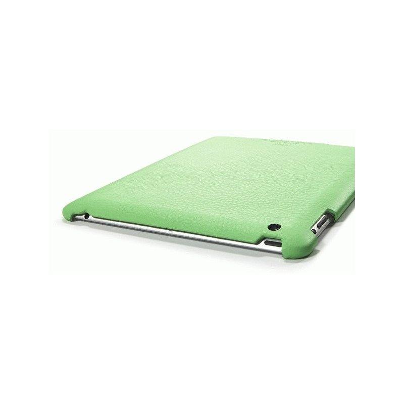 Кожаная накладка SGP Griff Grip Case Lime for iPad 2