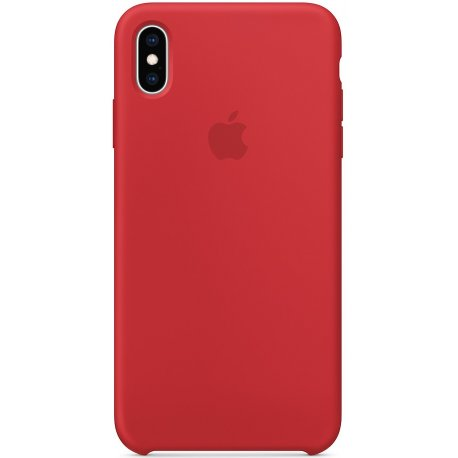 Чехол Apple iPhone XS Max Silicone Case (Product) Red (MRWH2)