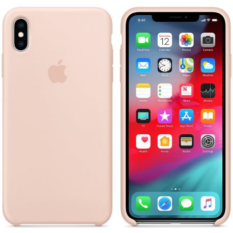 Чехол Apple iPhone XS Max Silicone Case Pink Sand (MTFD2)