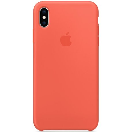 Чехол Apple iPhone XS Max Silicone Case Nectarine (MTFF2)