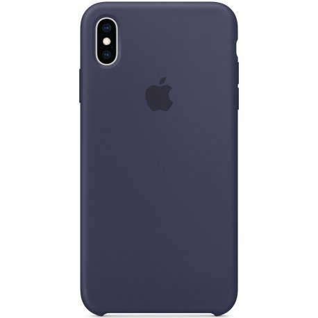 Чехол Apple iPhone XS Max Silicone Case Midnight Blue (MRWG2)
