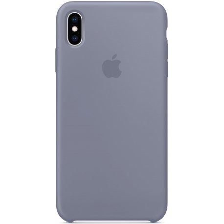 Чехол Apple iPhone XS Max Silicone Case Lavender Gray (MTFH2)