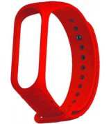Ремешок Rhomb Design для фитнес-трекера Xiaomi Mi Band 3 Red
