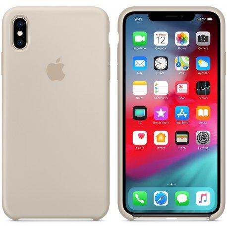 Чехол Apple iPhone XS Max Silicone Case Stone (MRWJ2)