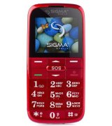 Sigma mobile Comfort 50 Slim 2 Red