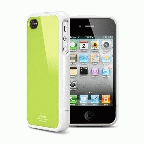 SGP iPhone 4 Case Linear Color Series Lime