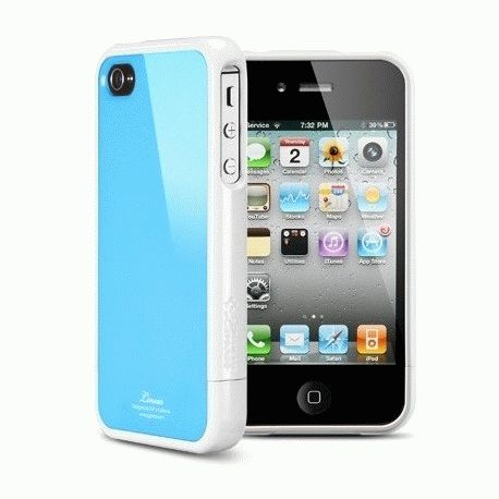 SGP iPhone 4 Case Linear Color Series Tender Blue