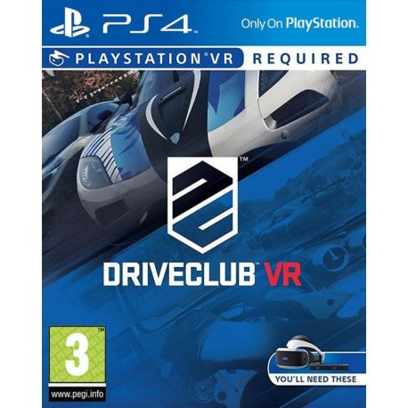 Игра DriveClub VR (PlayStation VR) для Sony PS 4 (русская версия)