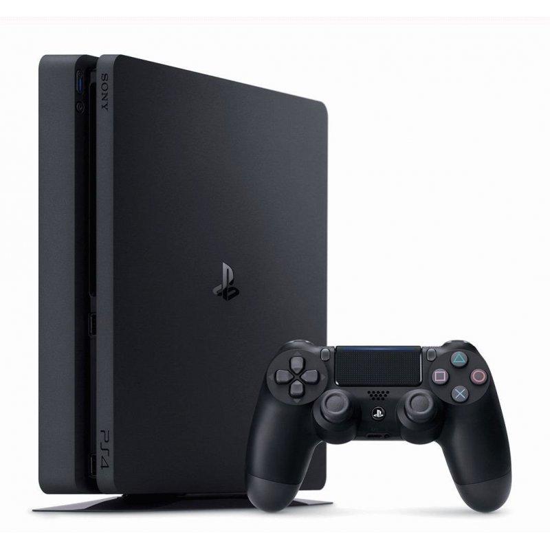 PlayStation 4 Slim 1TB Black (CUH-2108B) Bundle + Red Dead Redemption 2