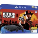 Sony PlayStation 4 Slim 1TB Black (CUH-2208B) Bundle + Red Dead Redemption 2
