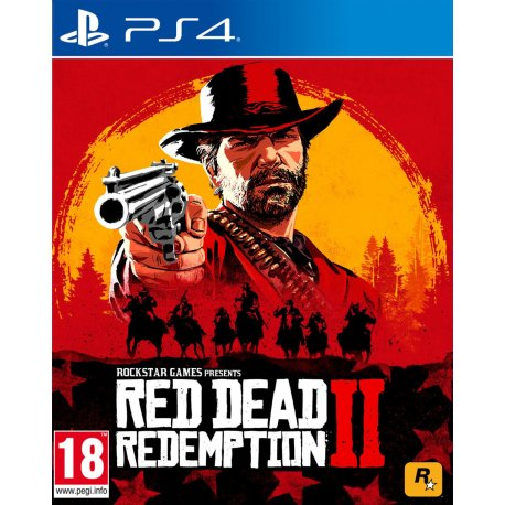 PlayStation 4 Slim 1TB Black (CUH-2108B) Bundle + Red Dead Redemption 2