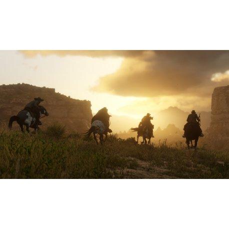Игра Red Dead Redemption 2 для Sony PS 4 (русские субтитры)