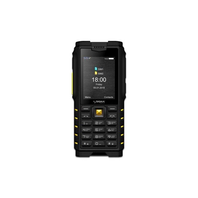 Sigma mobile X-treme Х-treme DZ68 Black-Tellow