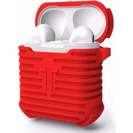 Чехол I-Smile Protective Case для Apple AirPods Red