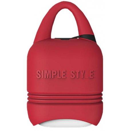 Чехол I-Smile Simple Case для Apple AirPods Red