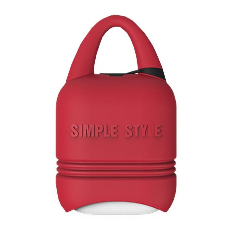 Чехол I-Smile Simple Case для Apple AirPods Red