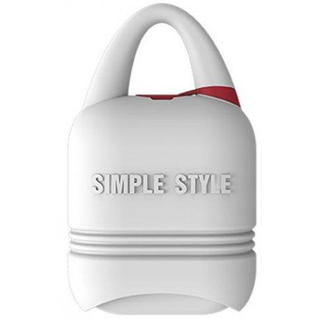 Чехол I-Smile Simple Case для Apple AirPods White