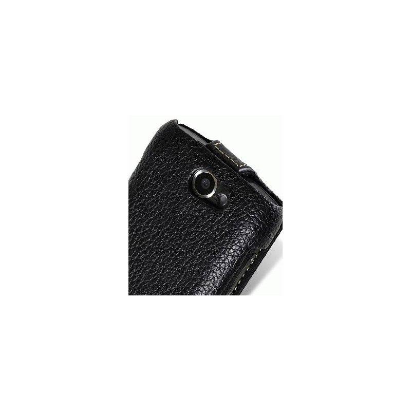 Кожаный чехол Melkco Flip (JT) для Samsung Galaxy W I8150