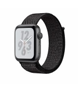 Apple Watch Series 4 Nike+ 40mm (GPS) Space Gray Aluminum Case with Black Nike Sport Loop (MU7G2)
