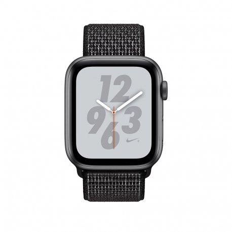 Apple Watch Series 4 Nike+ 40mm (GPS) Space Gray Aluminum Case with Black Nike Sport Loop (MU7G2)