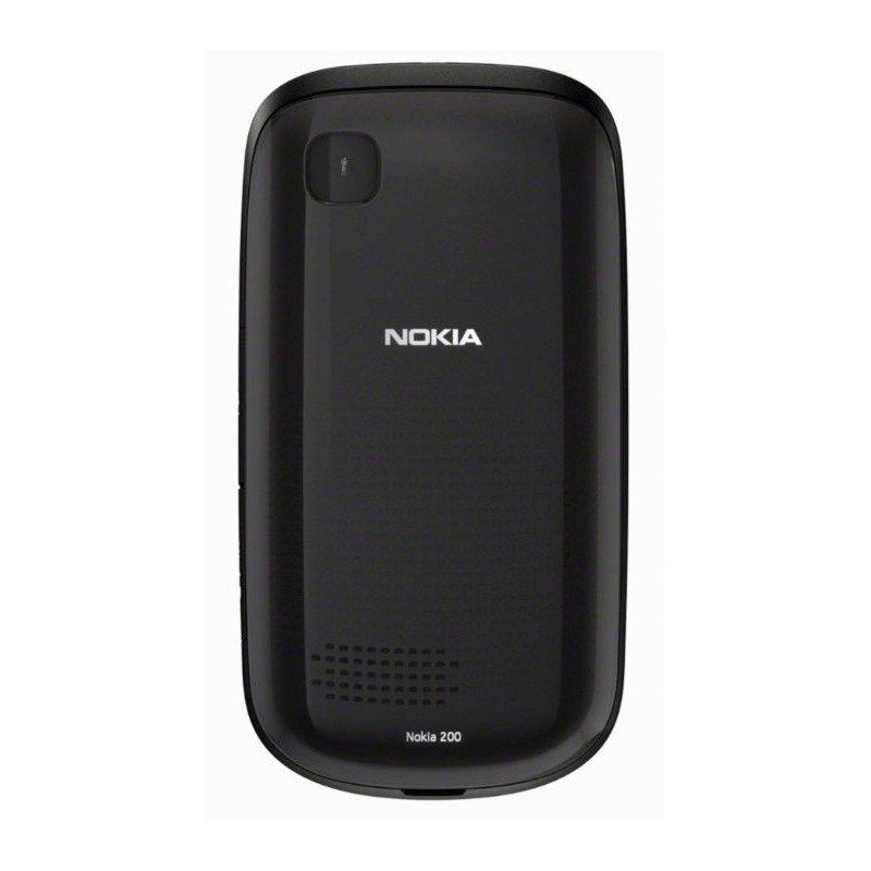 Nokia Asha 200 Duos Graphite