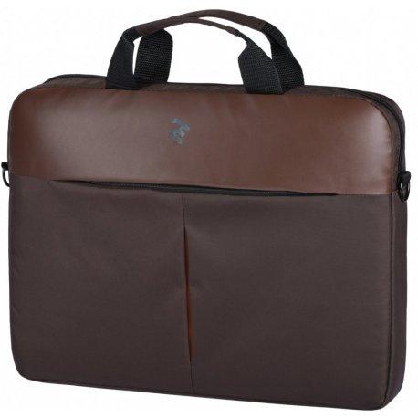 "Сумка для ноутбука 2E 16"" (2E-CBN616BR) Brown"