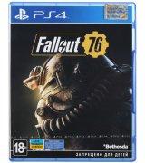 Игра Fallout 76 для Sony PS 4 (русские субтитры)