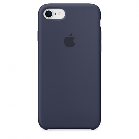 Чехол Apple iPhone 8 Silicone Case Midnight Blue (MQGM2)